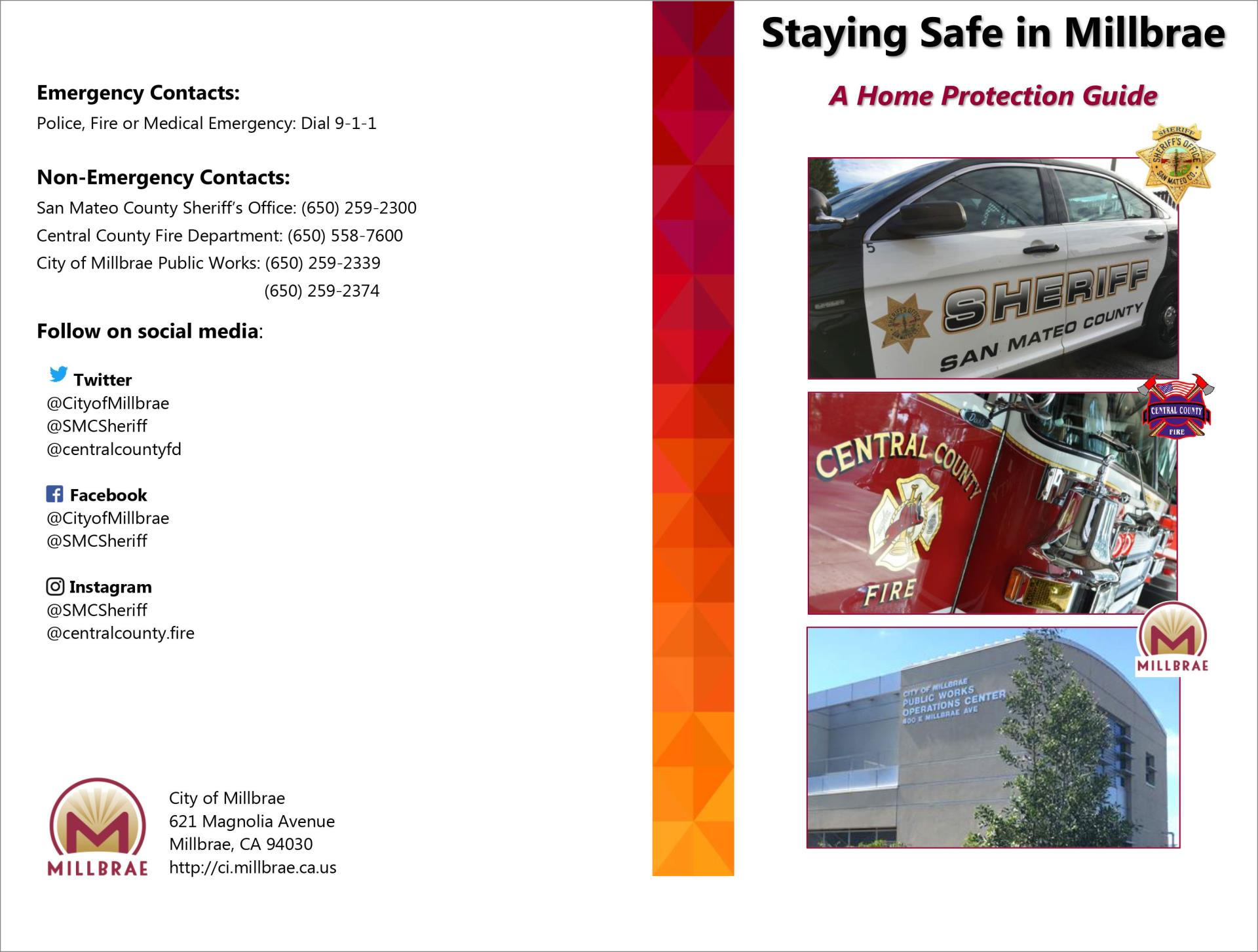 Staying-Safe-in-Millbrae---Home-Protection-Guide-Cover-Page