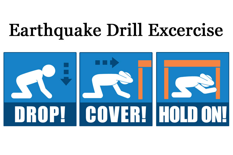 Millbrae City Staff Drill for Major Earthquake During Yellow Command Exercise
