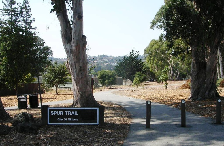 Spur Trail Phase I sign