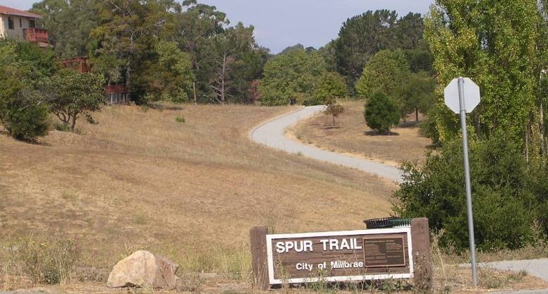 Spur Trail Phase II sign