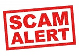 SCAM ALERT: Fake Representatives Asking for Information and Payments