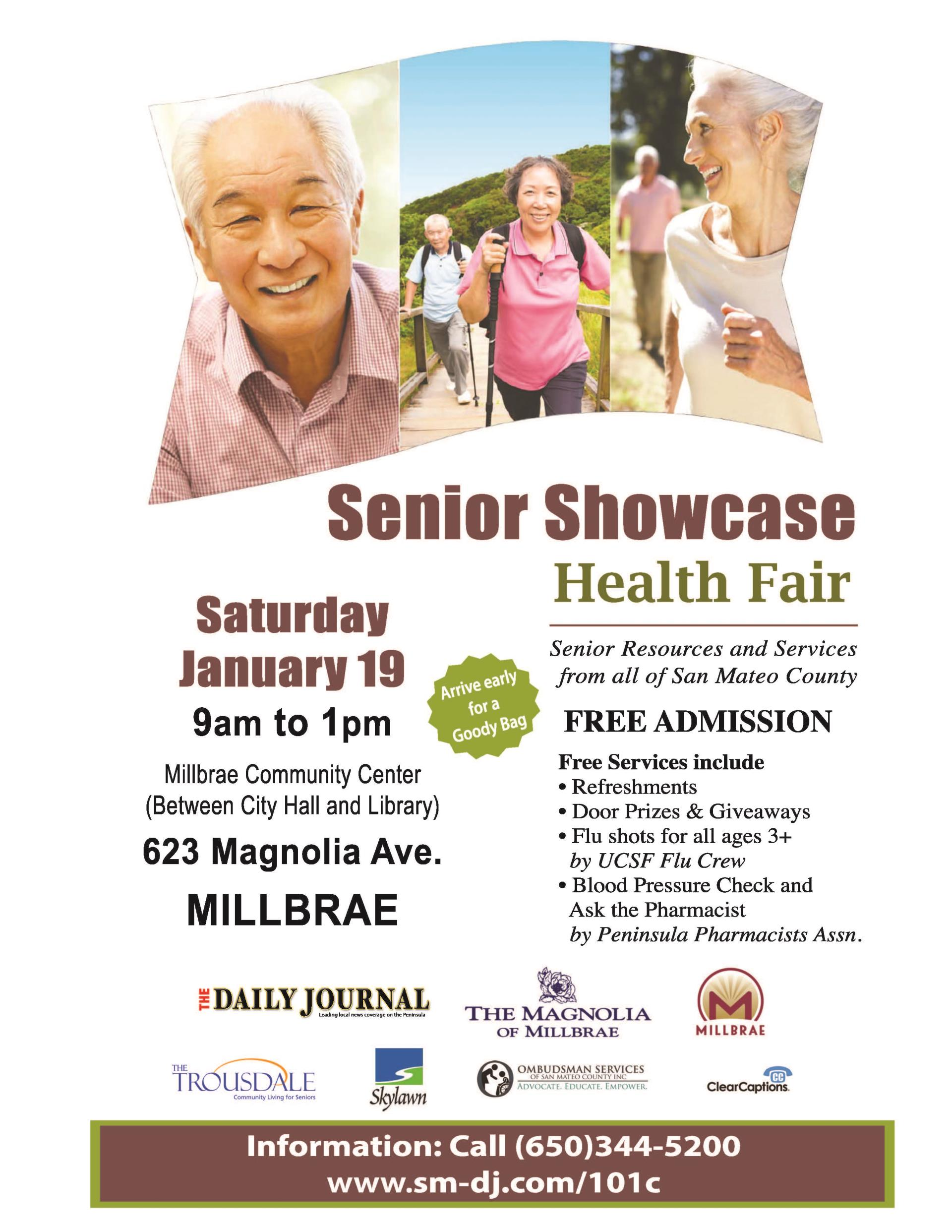 2019 Health Fair Flyer
