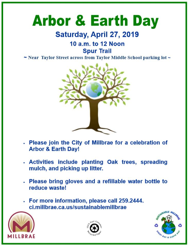 Arbor and Earth Day Flyer 2019
