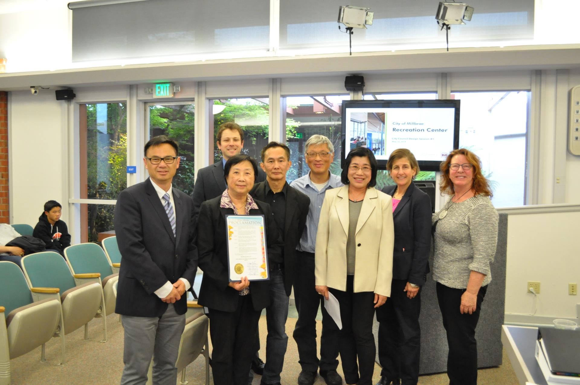 The City Council presented a proclamation recognizing the month of May as Asian American and Pacific Islander Heritage Month.