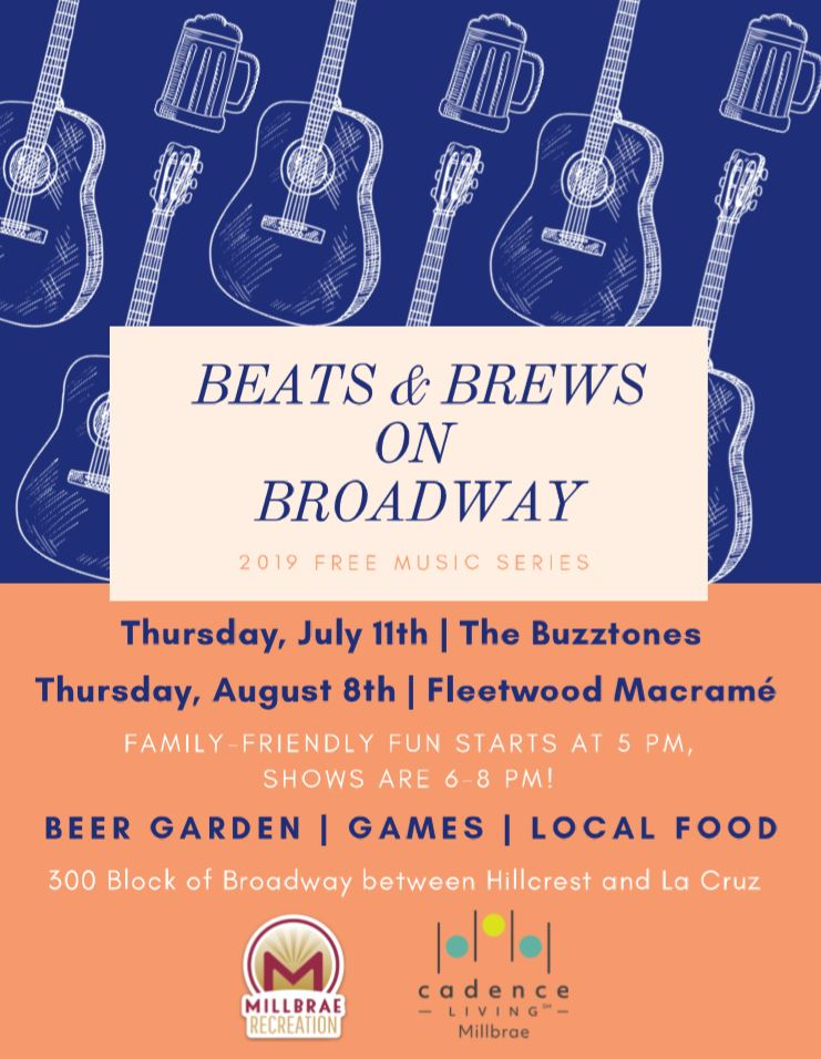 Beat Brews on Broadway Flier
