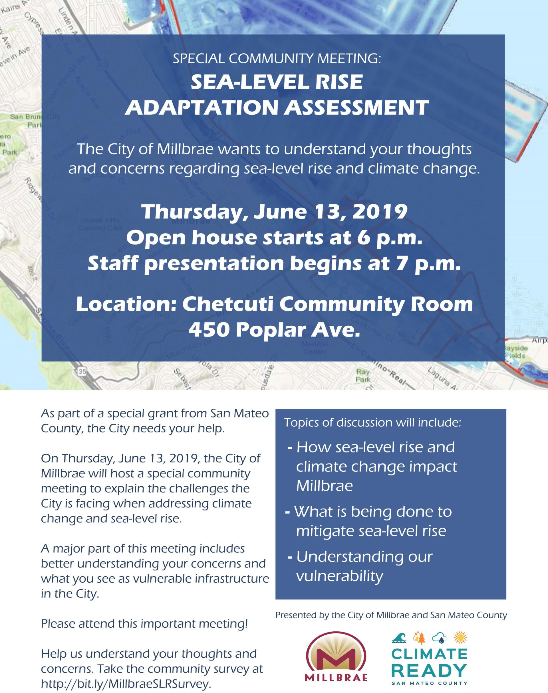 Climate Assessment Community Meeting Flyer v4