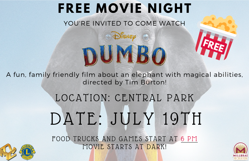 Dumbo Movie Night