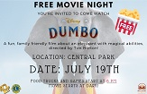 Millbrae Goes to the Movies Dumbo Flier Thumb