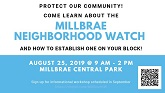 Millbrae Neighborhood Watch Community Meeting Thumb