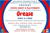 Millbrae Goes to the Movies Grease Thumb
