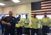 Public Works Crew Honored for Response to Hit Bicyclist