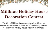 Millbrae Holiday House Decoration Contest