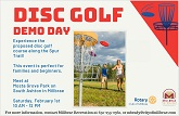 Disc Golf Demo Day Flier Thumb