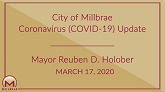 Mayors COVID 19 Update - March 17 Thumb
